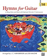 Hymns for Guitar: 14 Easy Solos and Duets with Optional Parts for C Instruments (Guitar TAB) (In Tab)