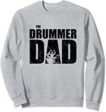 The Drummer Dad | Father's Day Gift For Drum Lovers Sweatshirt