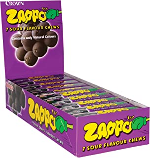 Zappo Grape Flavour Chews, 60 x 26 Grams