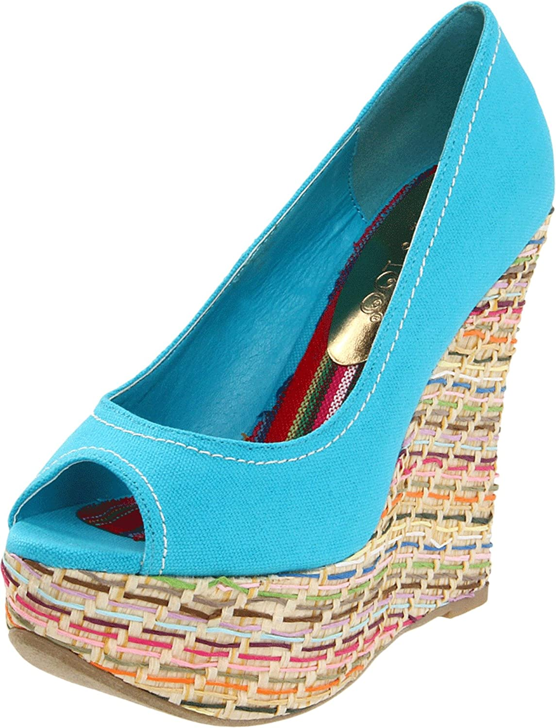 2 Lips Now Dealing full price reduction free shipping Too Women's Desire Wedge Pump