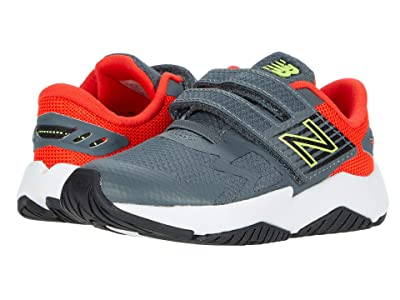 New Balance Kids Rave Run v1 (Infant/Toddler) (Lead/Neo Flame) Boys Shoes