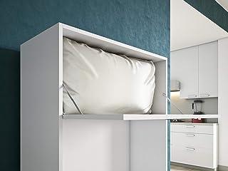 Maconi - Mueble cama Link 539-A de madera de 85 cm - Acabado