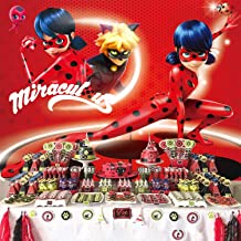 Miraculous Ladybug Backdrop, for Girl, Birthday Party Supplies, Decorations, Photography, Background, Baby Shower, Kids, Banner