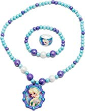Joy Toy 755782Disney Frozen Perlas Pulsera/Collar y Anillo Set