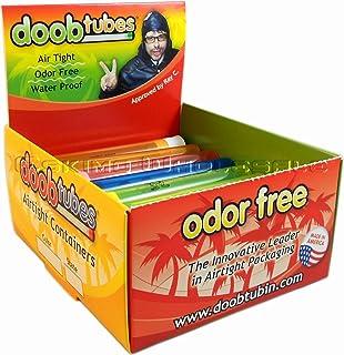 Doob Tubes - Small Airtight Packaging Tubes - 1 Box/25 Tubes