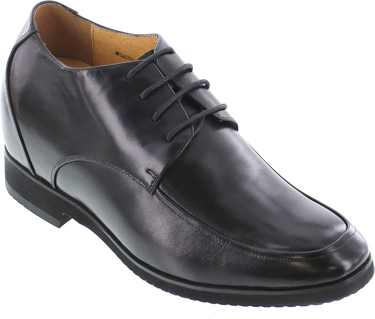 Toto - X7102-4 Inches Taller - Height Increasing Elevator shoes (Black Extra Heightening)