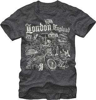 LOST GODS Men's Map of London T-Shirt