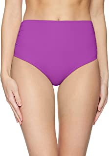 1394120c026 FREE Shipping on eligible orders. Anne Cole Women's High Waist to Fold Over  Shirred Bikini Bottom Swimsuit