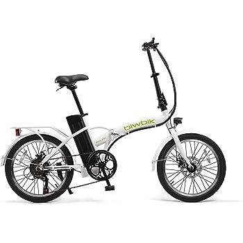 BIWBIK Bicicleta ELECTRICA Plegable Book: Amazon.es: Deportes y ...