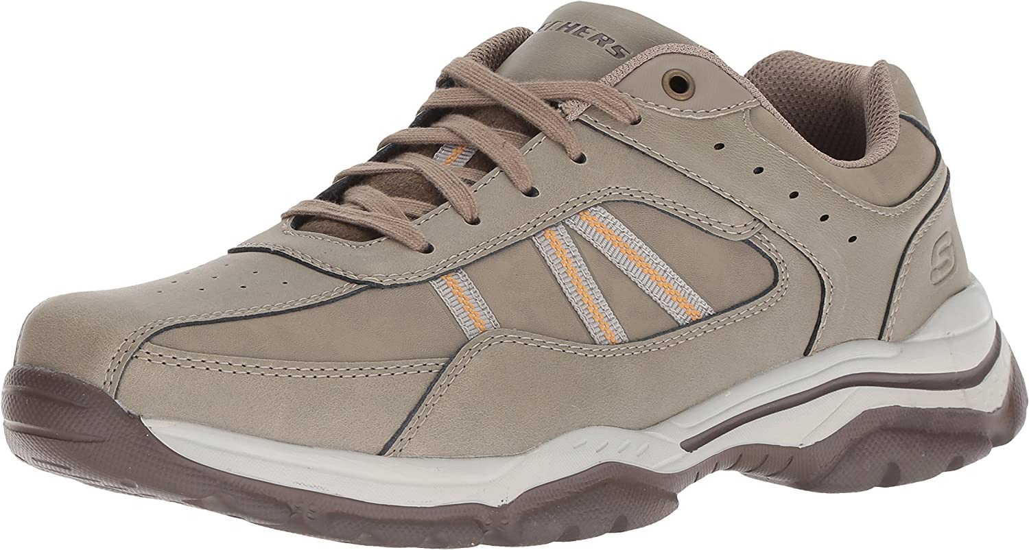 Skechers Men's Relaxed Fit-rovato-texon Oxford
