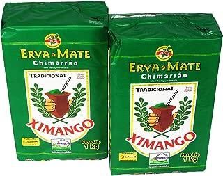 Ximango Yerba Mate - 35.27 Oz | Erva-Mate para Chimarrão Ximango - 1kg - (PACK OF 02)
