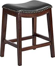 Best leather backless bar stool Reviews