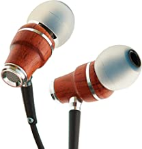 Symphonized NRG X Wood Earbuds Wired with Microphone, Stereo in Ear Headphones for..