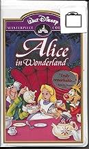 Walt Disney Masterpiece Collection Alice in Wonderland VHS Clamshell