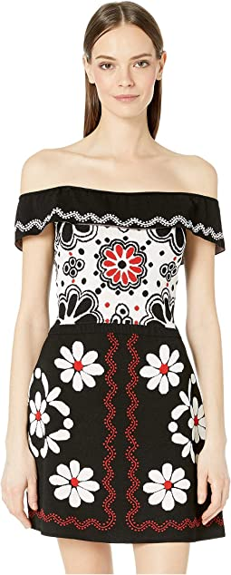 e5a67147d54 Clothing · Dresses · RED VALENTINO · Women. Luxury. Black Cream