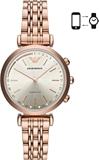 Emporio Armani Women's ART3026 Smart Digital Rose Gold Watch