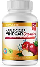 Apple Cider Vinegar – 120 Capsules – 1000mg Daily Dosage – Premium Quality Supplement – 60 Days Supply – UK Made – Vegan Suitable – Apple Cider Vinegar Capsules Estimated Price : £ 11,99