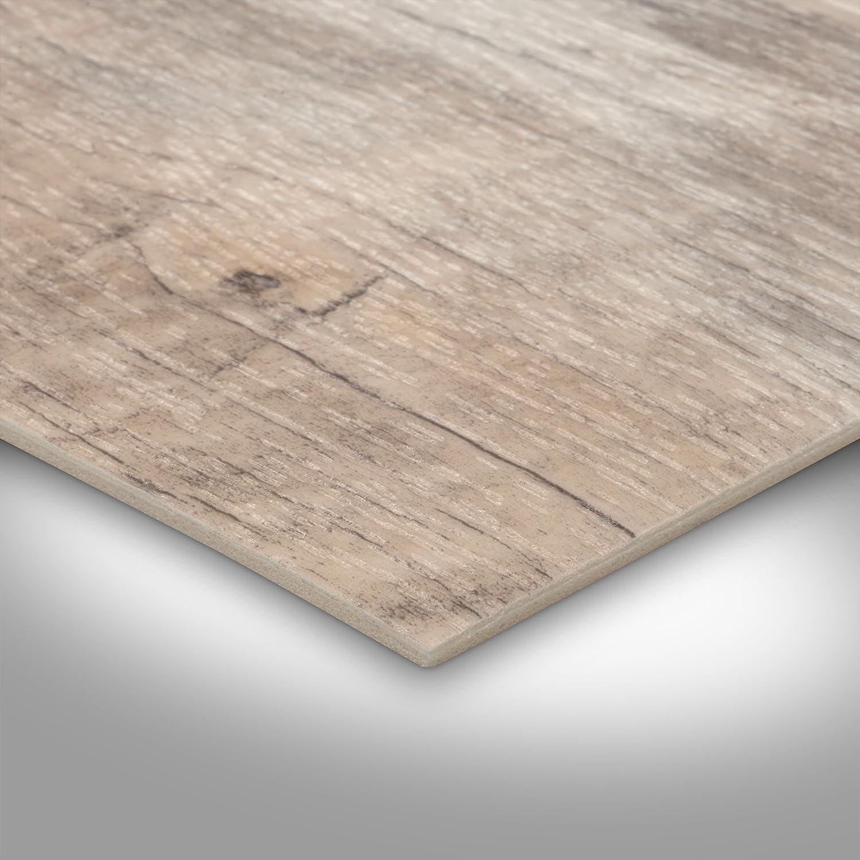 Schiffsboden Eiche wei/ß verschiedene Gr/ö/ßen 200 Meterware Gr/ö/ße: 5 x 3 m PVC Bodenbelag Holzoptik 300 und 400 cm Breite