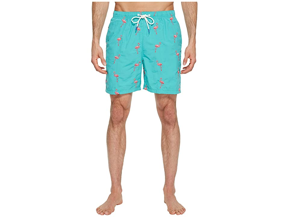 Tommy Bahama Naples Flamingo Coast Swim Trunk (Castaway Green) Men