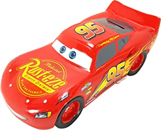 Disney Cars Lightning McQueen Ceramic Bank - Collectible and Gift for Boys, Girls, Adults, Baby, Cars Fan!