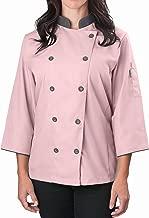 KNG Women's ¾ Sleeve Active Chef Coat