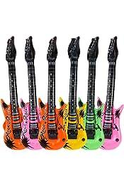 Amazon.es: guitarras hinchables - Globos / Decoración para fiestas ...