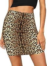 Best leopard skirt mini Reviews