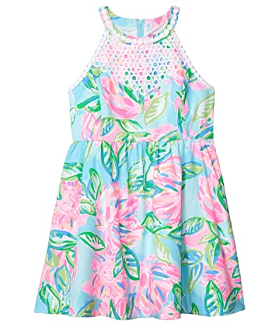 Lilly Pulitzer Kids Little Kinley Dress (Toddler/Little Kids/Big Kids) (Multi Totally Blossom) Girl