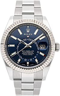Sky-Dweller Mechanical (Automatic) Blue Dial Mens Watch 326934 (Certified Pre-Owned)