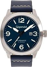 Gigandet G9-003 - Reloj para Hombres, Correa de Cuero Color Azul