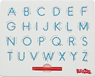BleuZoo Alphabet Magnetic Letter Tracing Board - Educational ABC Read Write Learn Preschool Drawing (Uppercase)