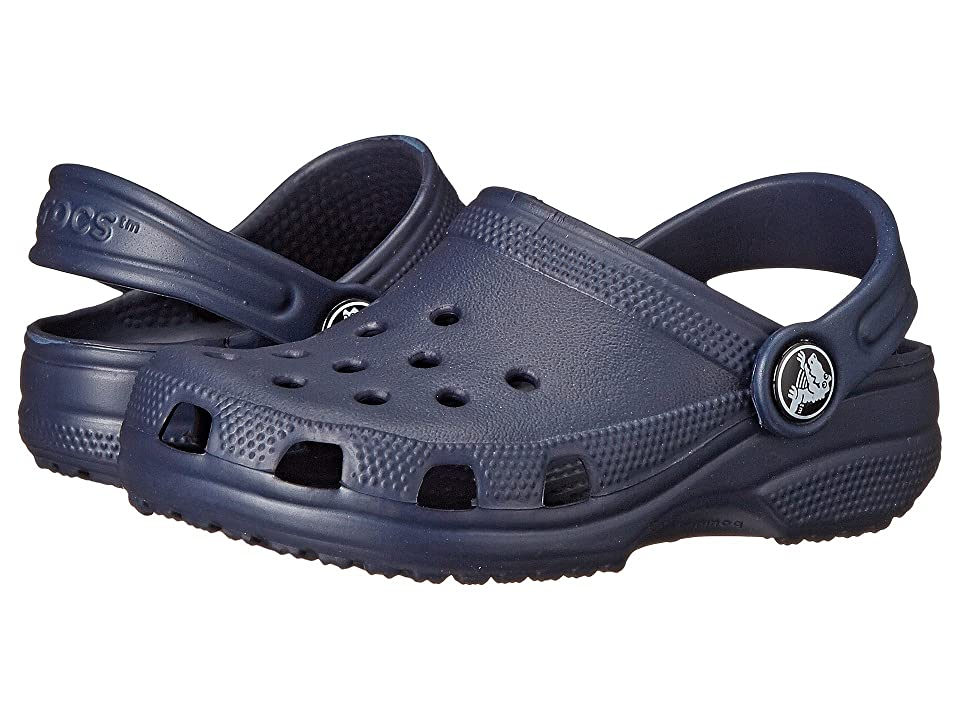 Crocs Kids Classic (Infant/Toddler/Youth) (Navy) Kids Shoes