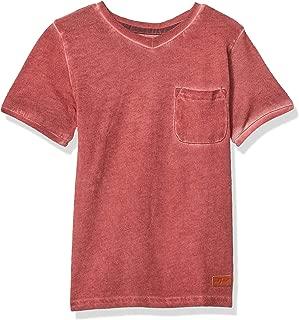 7 For All Mankind Boys' Short Sleeve V-Neck Tee