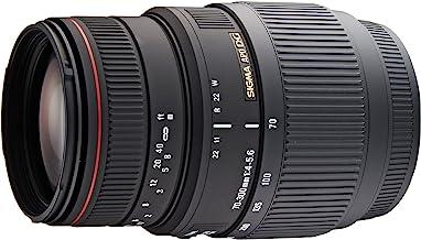 Sigma 4,0-5,6 70-300 APO/DG/DL/Macro/Super II - Objetivo para Sony/Minolta (Distancia Focal 70-300mm, Apertura f/5.6) Color Negro