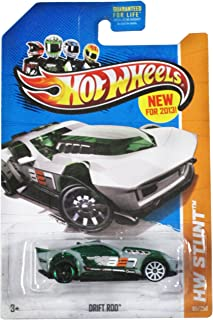 Hot Wheels 2013 Hw Stunt Green/Grey Drift Rod 85/250