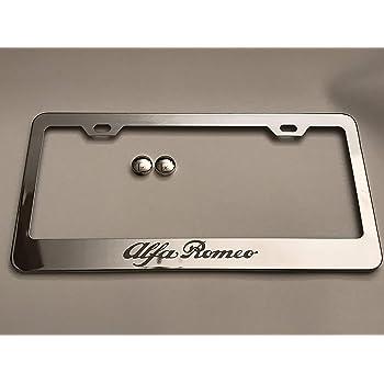 QOMNHNDE License Plate Frame Screws for Alfa Romeo