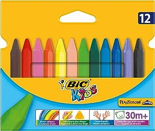 Bic Kids - Plastidecor Triangle - Craies de coloriage