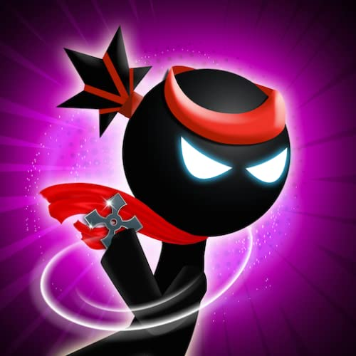 Stickman Ninja Warrior - Throwing Puzzle Game
