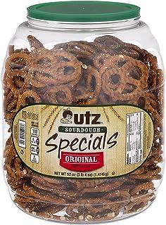 Utz Sourdough Specials Pretzels – Classic Sourdough Pretzel Knot Twist, Perfectly Salted Crunchy Sourdough Pretzel with Ze...