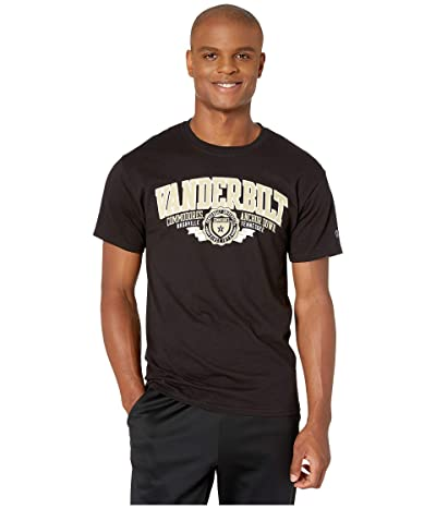 Champion College Vanderbilt Commodores Jersey Tee (Black 3) Men