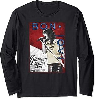 Unbekannt Bon Jovi 86 Tour Langarmshirt