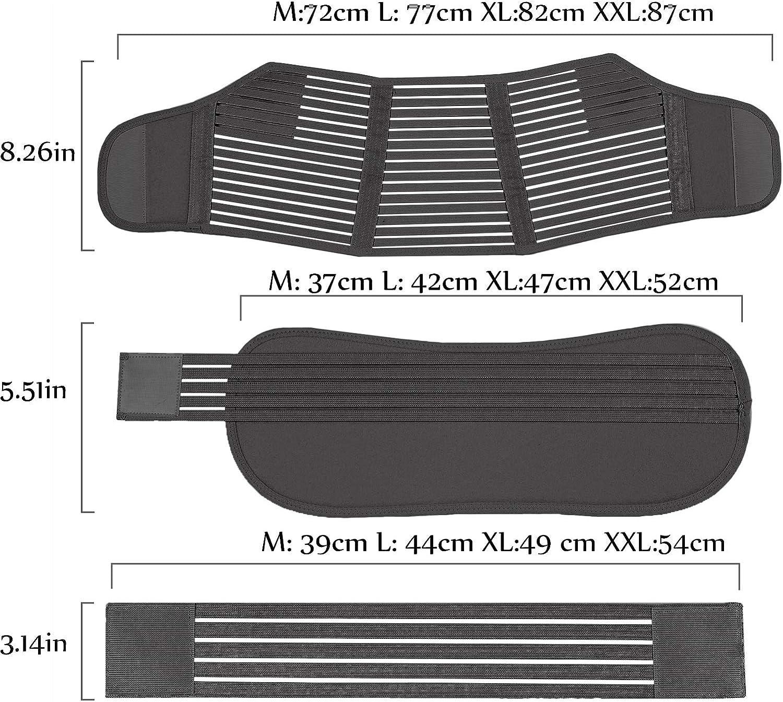 Supporto per Alleviare Il Dolore alla Schiena al Pavimento Pelvico MDHAND Cintura di Supporto per la Gravidanza Cintura di maternit/à 3 in 1 Materiale Traspirante Elastico Morbido