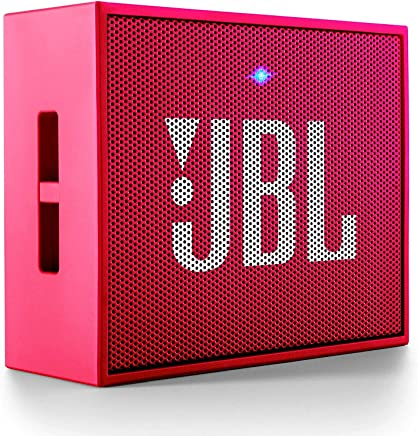 JBL GO Portable Wireless Bluetooth Speaker with Mic (Pink)