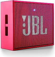 JBL GO Portable Wireless Bluetooth Speaker W/A Built-in Strap-Hook (Pink)