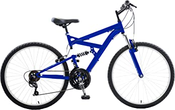 Cycle Force Men's Dual Suspension Mountain Bike