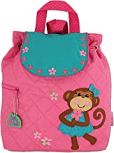 Stephen Joseph Girls' Quilted Backpack