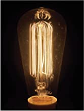 """JP London PAP2325 Solvent Free Poster Art Print Ready to Frame Edison Bulb 2 Restoration Hardware Vintage at 24"""" h by 18"""" w"""