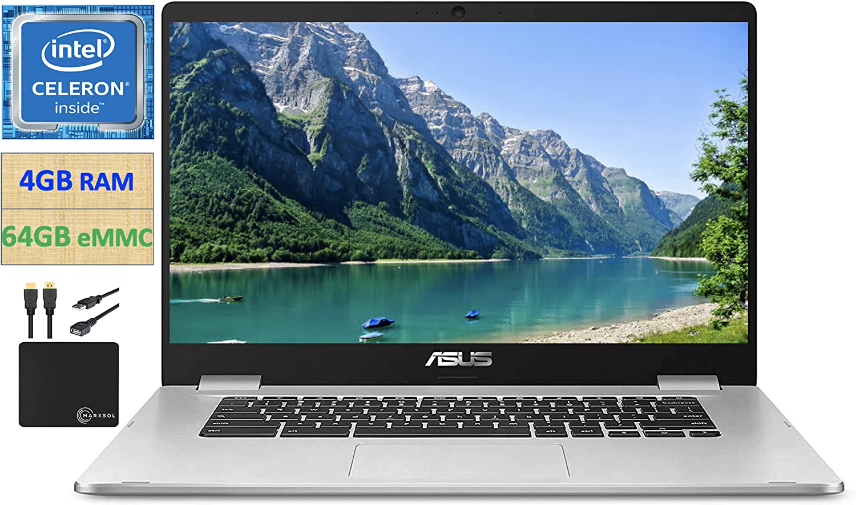 2021 Premium ASUS Chromebook Thin Student Business Laptop, 14