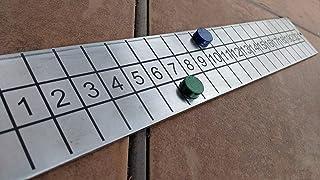Cornhole Score Board game outdoor backyard steel personalized system bean bag