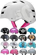 SC Skateboard & BMX Bike Helmet for Kids & Adults from 6-99 Years